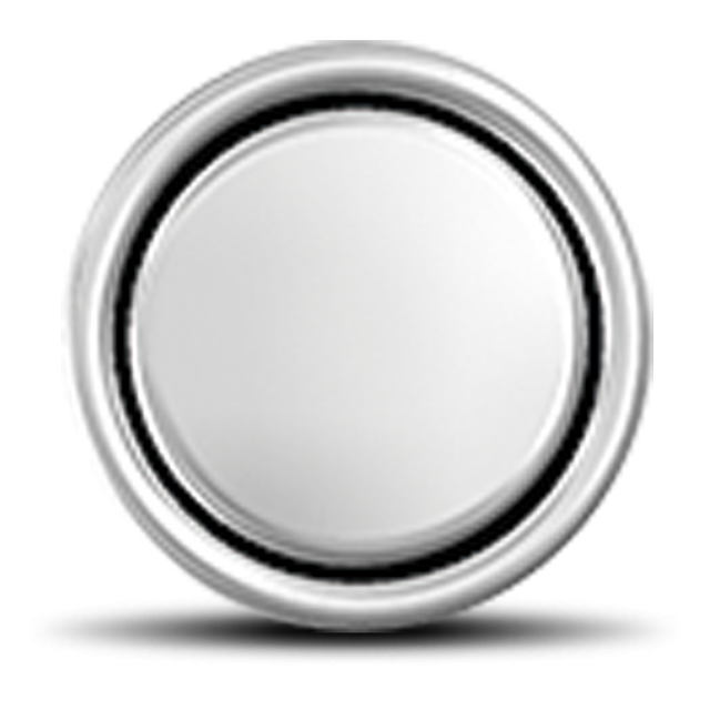 Lithium coin battery with no inscription