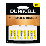10 Hearing Aid Battery 8 pack front