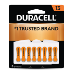13 Hearing Aid Battery 8 pack front