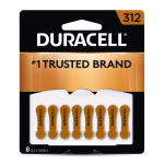 312 Hearing Aid Battery 8 pack front