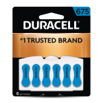 675 Hearing Aid Battery 6 Pack front
